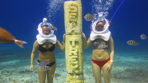 Cozumel Sea TREK Statue